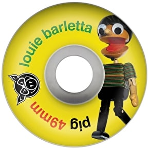 Pig Skateboard Wheels - Marionette Barletta 49mm (Pack of 4)