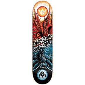 Darkstar Skateboard Deck - Early Bird Red/Blue 8