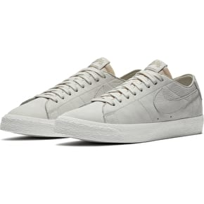 Nike SB Zoom Blazer Low Decon Shoes - Light Bone/ Light Bone- Khaki