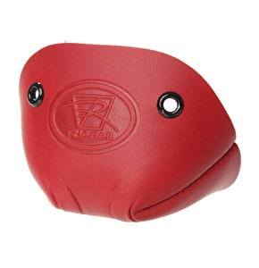 Riedell Leather Toe Caps - Red