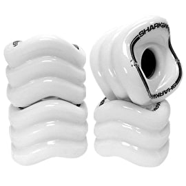 Shark Wheel Sidewinder 70mm 78A Longboard Wheels - White