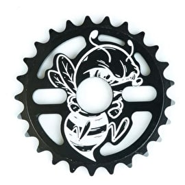 Total BMX Killabee 25 Tooth BMX Sprocket - Black/White