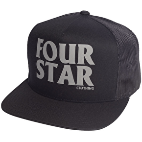 Fourstar Four Hero Trucker Cap - Black
