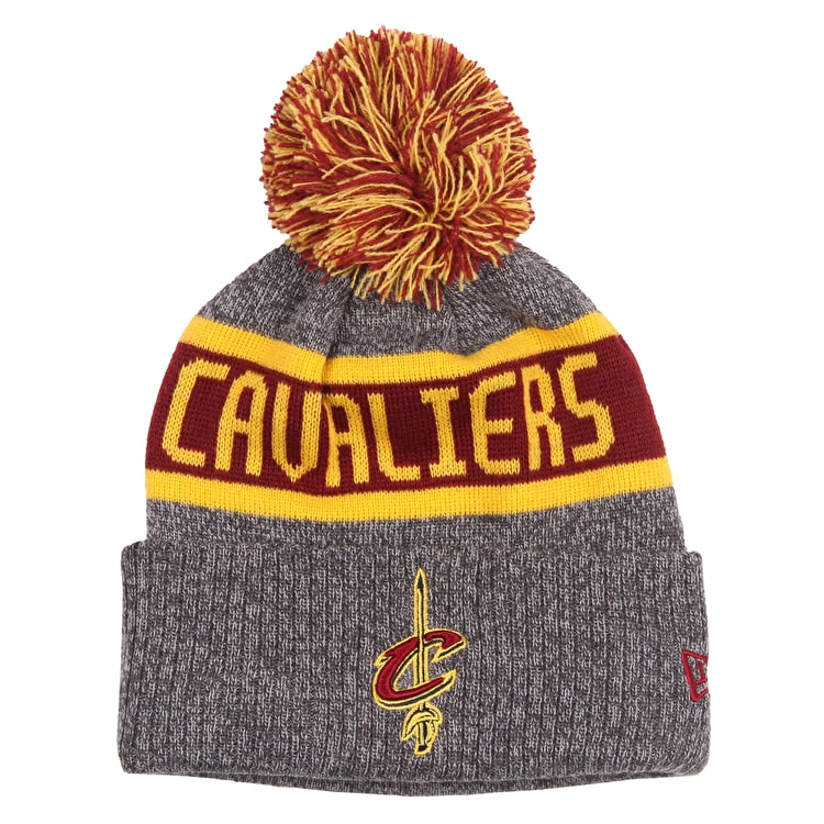 New Era NBA Marl Knit Junior Beanie - Cleveland Cavaliers