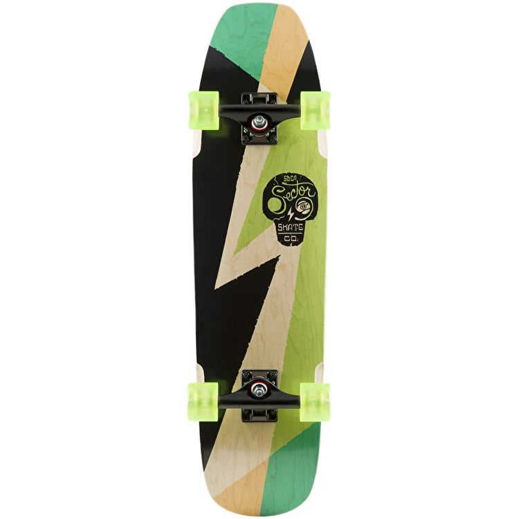 "Sector 9 Swellhound 17 31.5"" Complete Cruiser - Green"