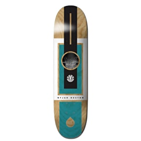 Element Let It Flow Skateboard Deck - Nyjah 8