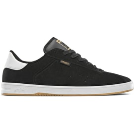 Etnies The Scam Skate Shoes - Black/White/Gum