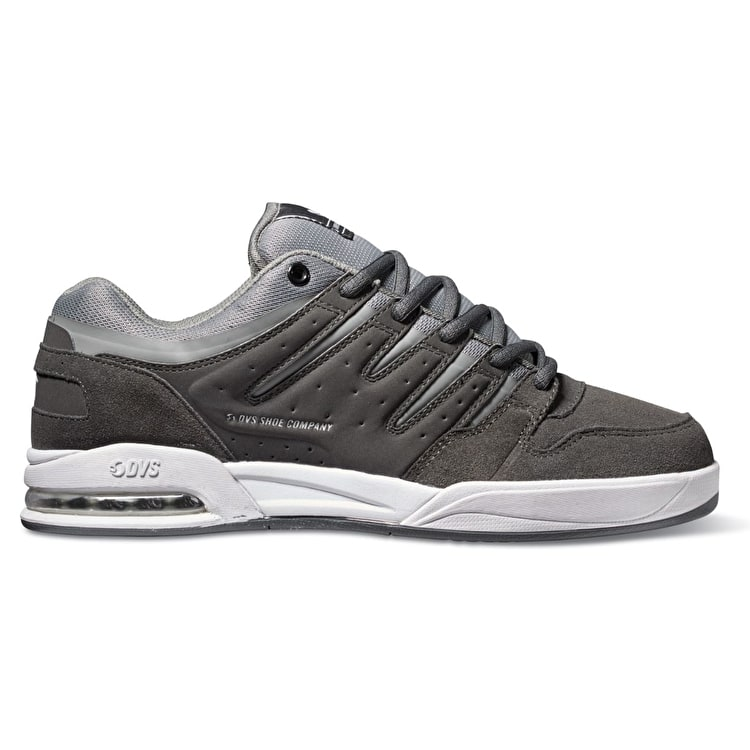 B-Stock DVS Tycho Skate Shoes - Grey/White Suede UK 9 (Paint Mark)