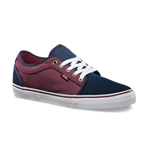 Vans Chukka Low Shoes - (Oxford) Navy/Port