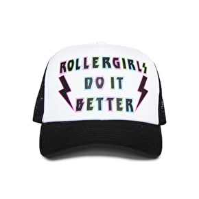 Skatanist- 'Rollergirls do it Better' Trucker Cap