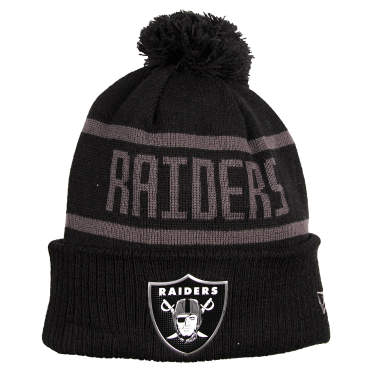 e4d5a29ebe2 raiders beanie new era