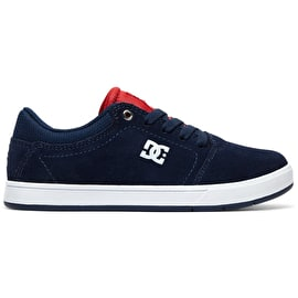 DC Crisis Boys Skate Shoes - Navy