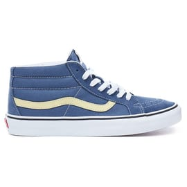 Vans Sk8-Mid Reissue Skate Shoes - Vintage Indigo/Pineapple Slice