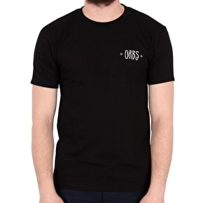 Welcome Orbs Ghost T-Shirt - Black/White