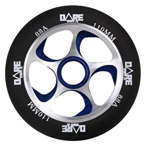 Dare Swift 2 Scooter Wheel - Black/Blue 110mm
