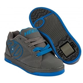 B-Stock Heelys Propel 2.0 - Grey/Royal - Junior UK 13 (Box Damage)