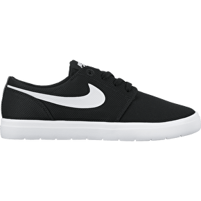 Nike SB Portmore II Ultralight Kids Shoes - Black/White