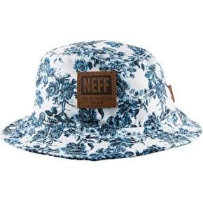 Neff Prime Bucket Hat - White