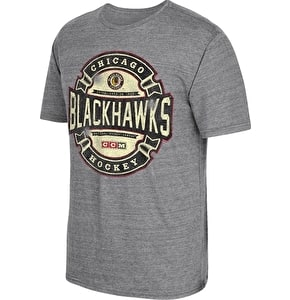 Reebok NHL Game Tested Tee-Chicago Blackhawks