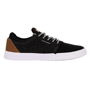 DVS Stratos LT+ Skate Shoes - Black/Brown Knit