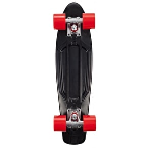 D-Street Retro V2 Complete Skateboard - Black/Red