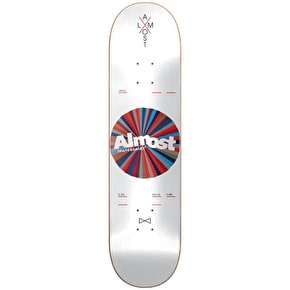 Almost Skateboard Deck - Noble Colour Wheel White 8.125