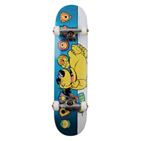 Almost Muttley Plaque Premium Kids Complete Skateboard - Teal 7