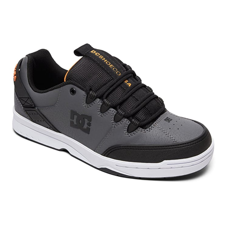 DC Syntax Skate Shoes - Grey/Black/Black