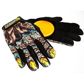 Landyachtz Slide Gloves with Slide Pucks - Werewolf