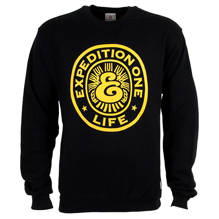 Expedition One Draft Crewneck - Black