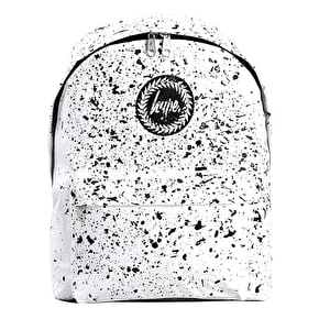 Hype Speckle Backpack - White/Black