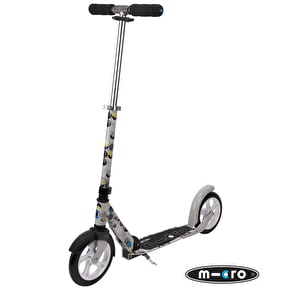 Micro Adult's Scooter - Floral Grey