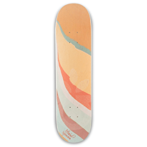 Habitat X Elena Johnston Skateboard Deck - Syvannen - 7.875