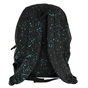 Hype Speckle Backpack - Black/Mint