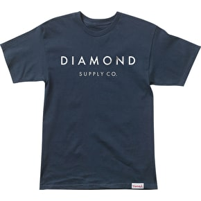 Diamond Yacht Type T-Shirt - Navy
