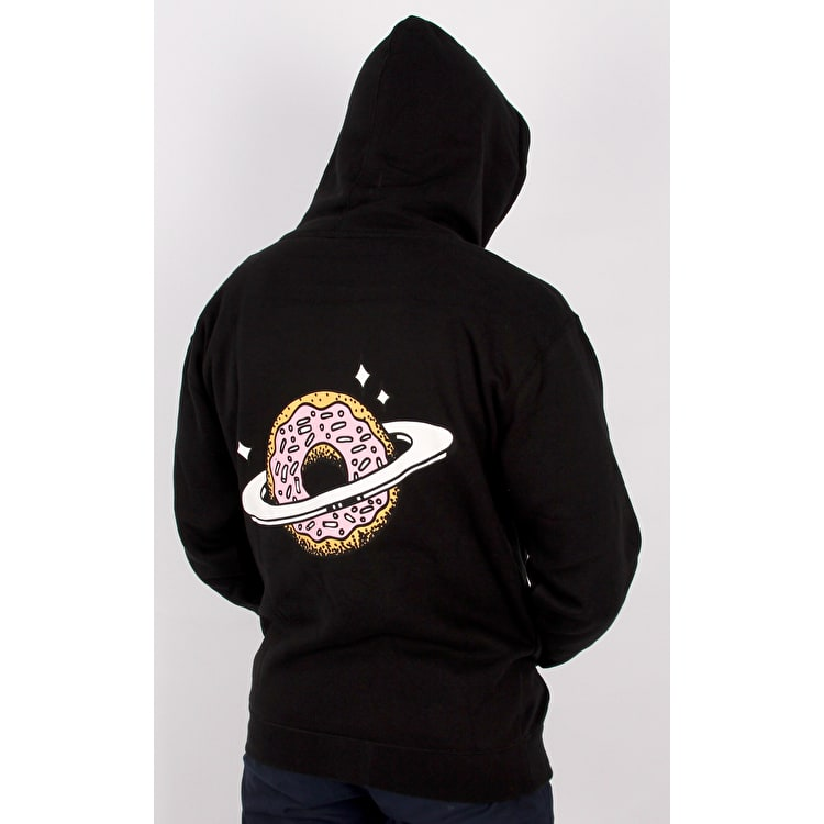 Skateboard Cafe Planet Donut Hoodie - Black