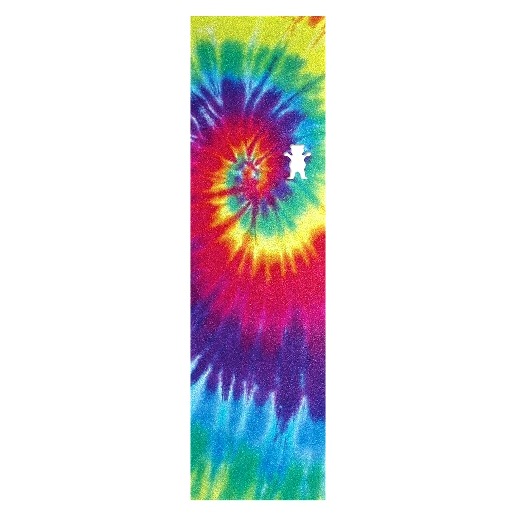 Grizzly Og Bear Cut Out Tie Dye Grip Tape Skateboard