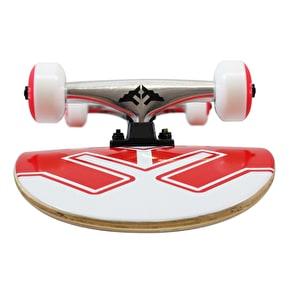 Fracture Uni Complete Skateboard - Red 8