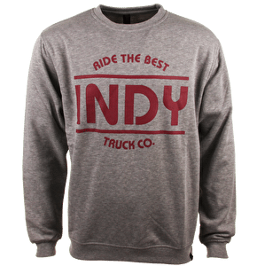 Independent Crewneck - Indy Heather Grey