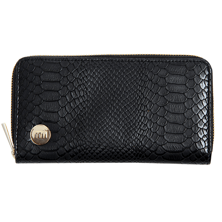 Mi-Pac Zip Purse - Python Black