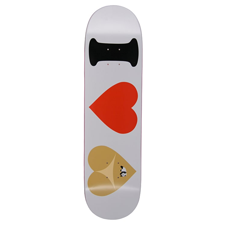 Enjoi I Heart Hearts R7 Skateboard Deck - White 8.375""