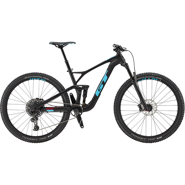 "GT 29"" M Sensor Crb Elite 2019 Complete Mountain Bike - Raw"