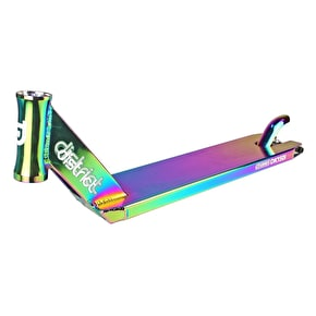District S-Series DK150i Scooter Deck - Neochrome 500mm