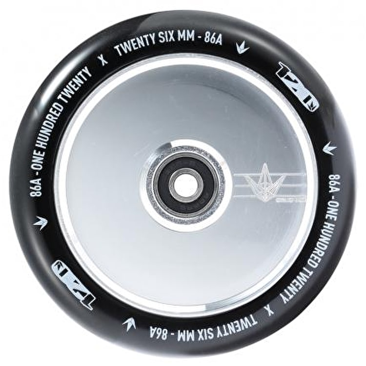 Blunt 120mm Hollow Scooter Wheel - Polished
