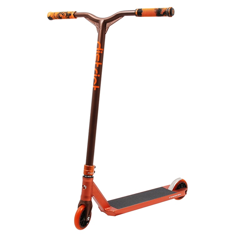 Phoenix Pro x District Custom Stunt Scooter - Orange/Coine