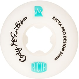 Ricta Cody McEntire 101a Skateboard Wheels - White 51mm