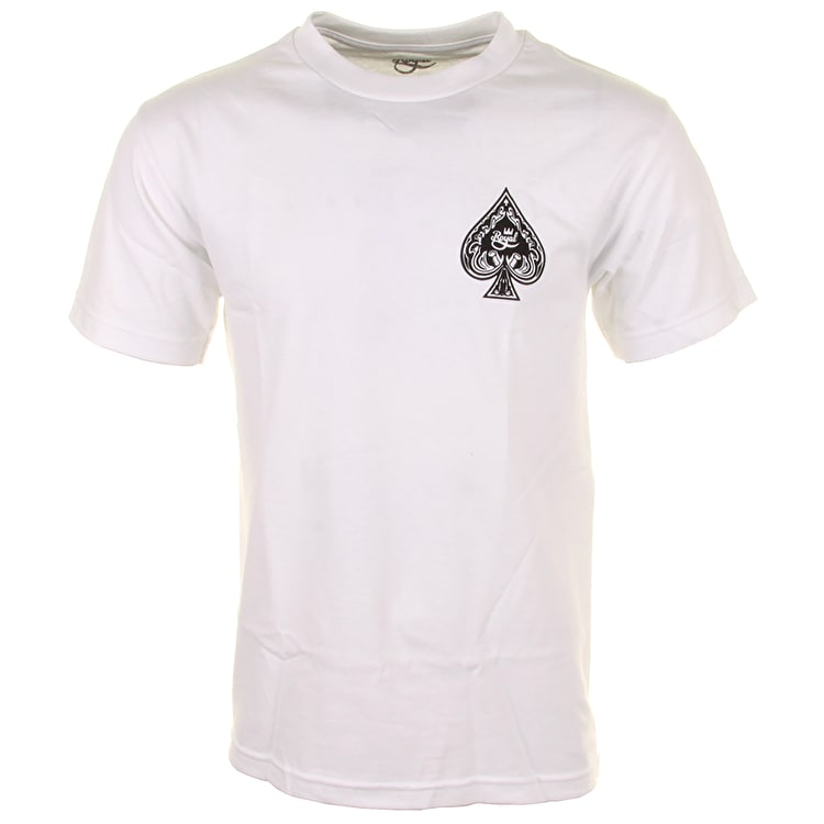Royal Ace Of Spades T-Shirt - White