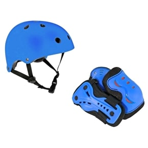 SFR Essentials Helmet & Padset Bundle - Blue