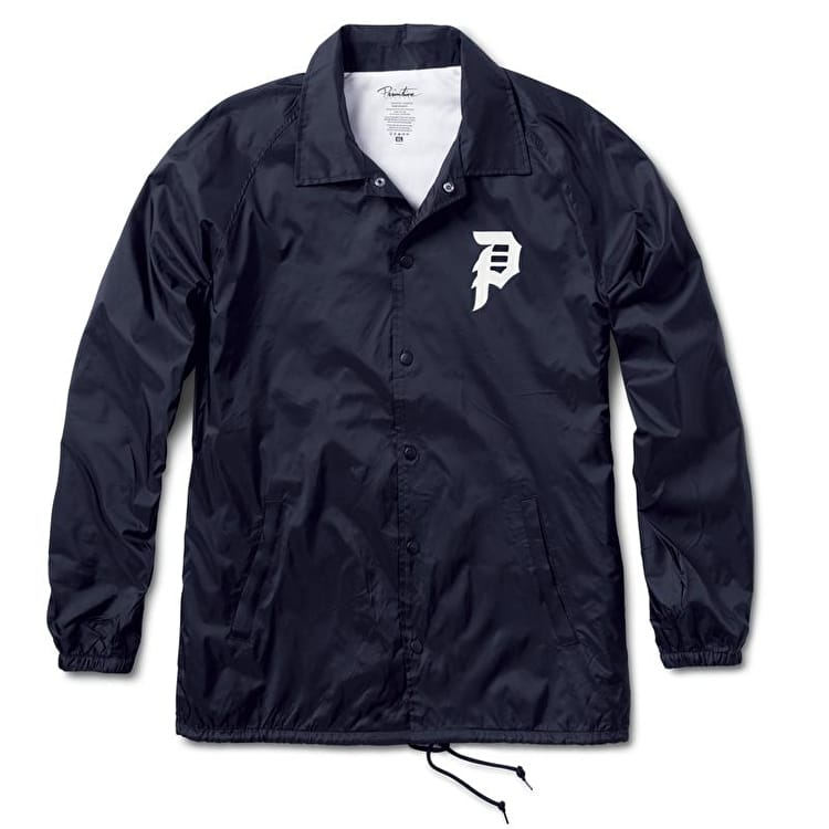 Primitive Dirty P Windbreaker Jacket - Navy