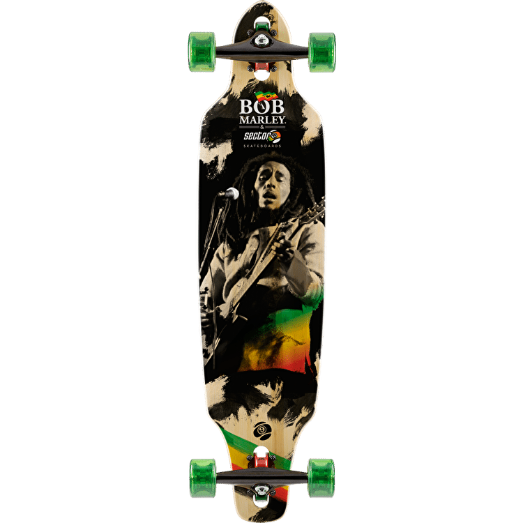 "Sector 9 x Bob Marley Jamming 37.5"" Complete Longboard"